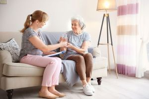 Elder Care Collierville TN - How to Keep Communication Short and Direct with a Senior Who Has Dementia